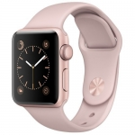 Часы Apple Watch Series 2 38mm Gold Aluminum Case with Pink Sand Sport Band
