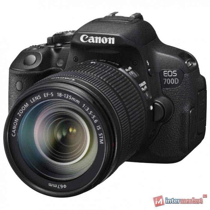 Цифровой фотоаппарат Canon EOS 700D Kit 18-135mm IS STM