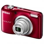 Фотоаппарат компактный Nikon COOLPIX A10, красный
