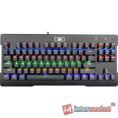 Клавиатура проводная игровая механическая Redragon Visnu RU,Rainbow (Черный), USB, ENG/RU, НОВИНКА!