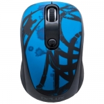 Мышь Delux DLM-130OGD 3D, (Молдинг, Чёрно-Синий)